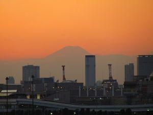ビッグサイトより 富士山