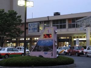 7月7日の福島駅前