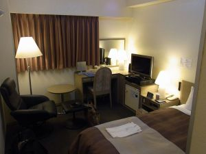 ホテル室内