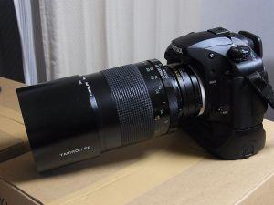 K20D+500mm+1.4倍テレコン装着