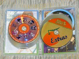 DVDレーベル面
