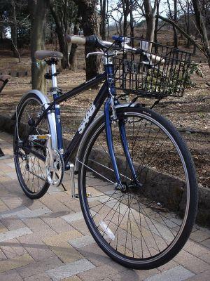SAABのクロスバイク