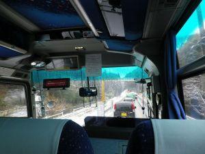 バス車内より