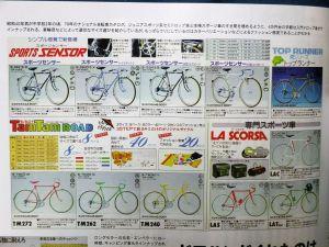 ロードマンタイプの自転車