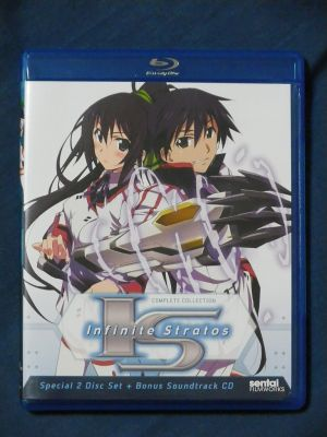 インフィニット・ストラトス 北米版Blu-ray