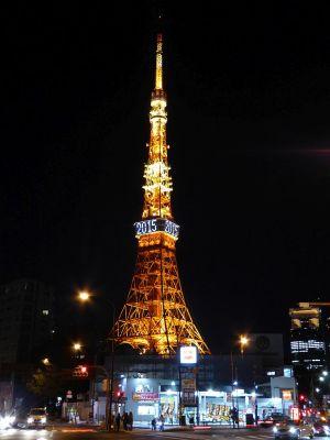 東京タワー(1/7撮影)