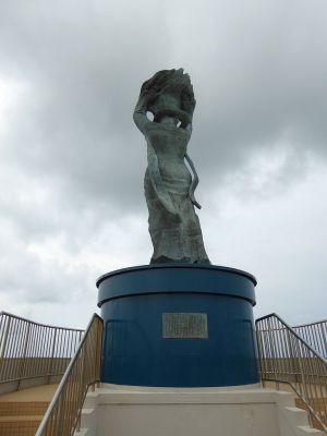 女神像「暁風」