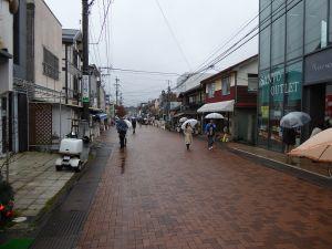 軽井沢の商店街-2