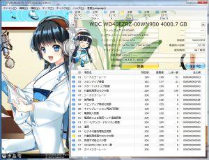 4TB HDDエラー画面