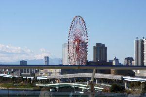コミケ会場から見える富士山-1