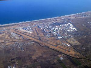 空から見た仙台空港