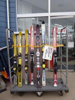 スキー板は無料