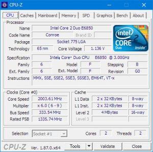 Core 2 Duo E6850-1